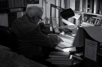 Book seller, Ann Arbor, Michigan